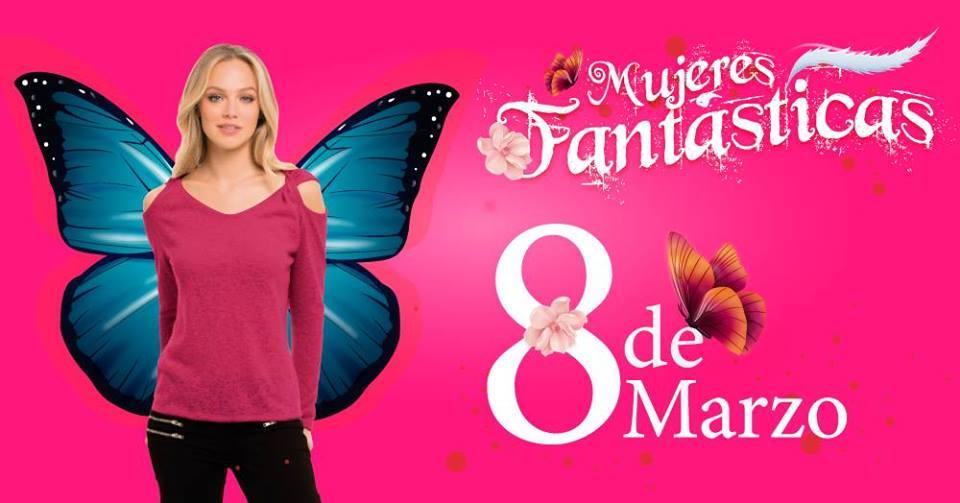 El 8 de marzo en el centro comercial Unicentro festejaremos el Día Internacional de la Mujer rindiendo homenaje al ser más especial. Este día celebraremos con sorpresas espectaculares a nuestras visitantes, porque ellas lo son todo, para ellas todo