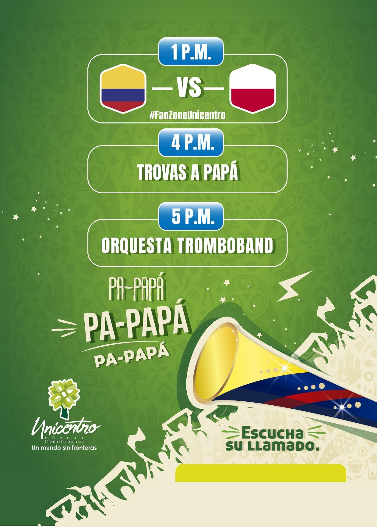 Papá Colombia VS Polonia