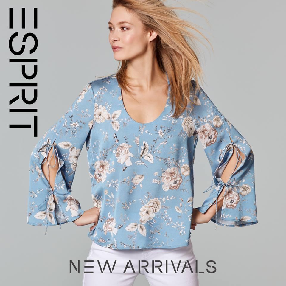 ¡El discreto encanto de la inspiración oriental!. Ven a nuestra tienda ESPRIT y descubre la nueva colección que tenemos para ti.