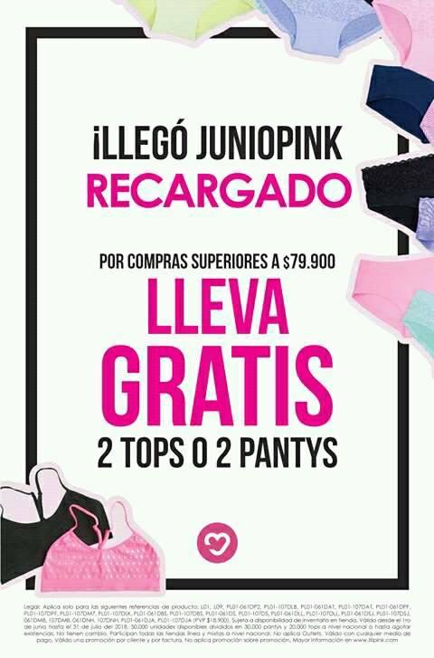 Este mes estará lleno de #LiliSorpresas para ti, visita nuestras tiendas y disfruta de esta gran promoción. Ama, Vive, Ríe #DeCorazon.