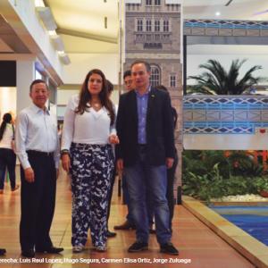Grata Visita Jorge Zuluaga es el señor Cónsul de Brasil