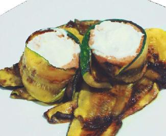 Gastronomía   Pastel de Pescado en Cama de Calabacín