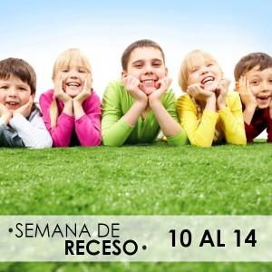 10 al 14 de Octubre | Semana de Receso