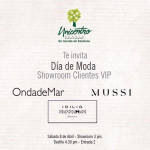 Día de Moda | Show Room para Clientes VIP