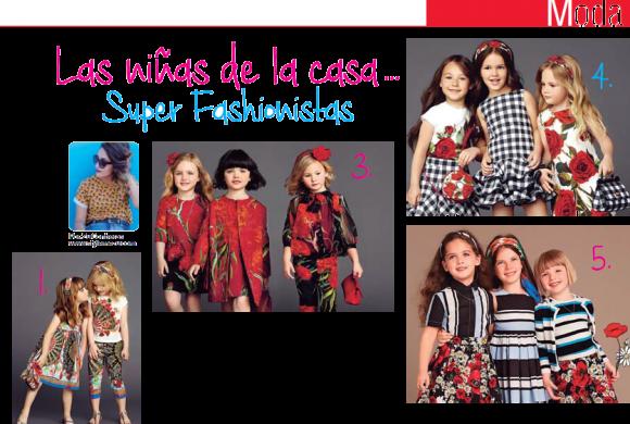 MODA | Las Niñas de la Casa Super Fashionistas