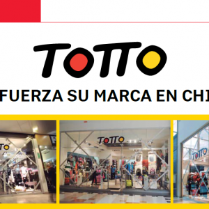 Totto Refuerza su Marca en Chile