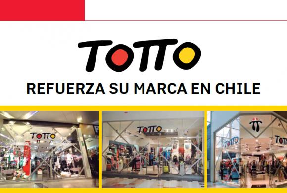 Totto Refuerza su Marca en Chile