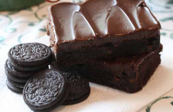 RECETA | Brownie de Oreo