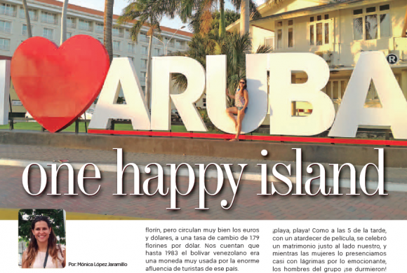 DESTINO | Aruba, One Happy Island