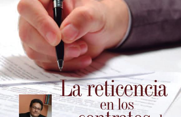 DERECHO   La Reticencia en los Contratos de Seguros