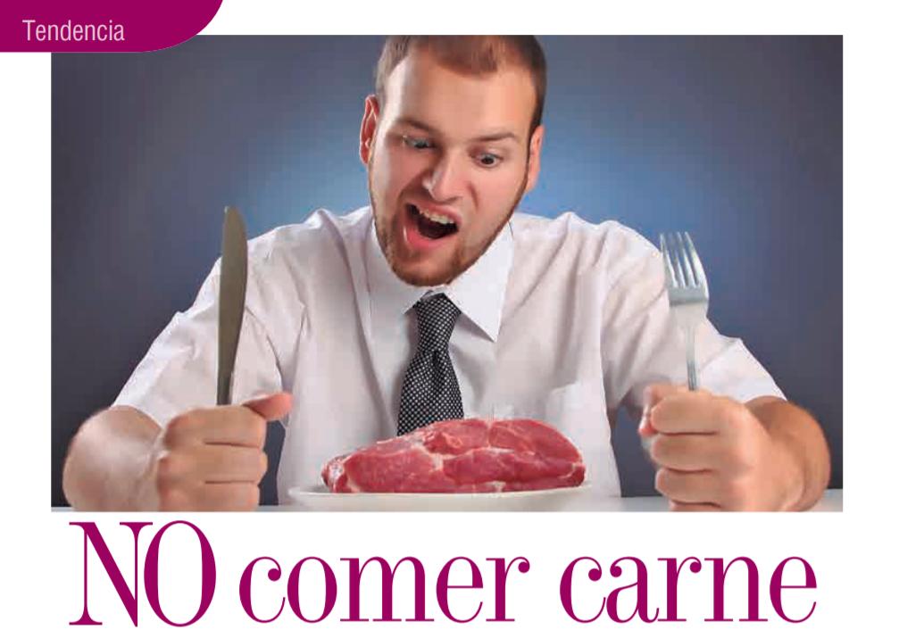 Tendencia No Comer Carne