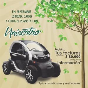 TÉRMINOS Y CONDICIONES DEL SORTEO DE UN CARRO TWIZZY
