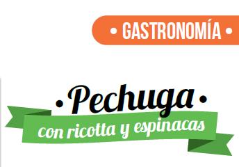 GASTRONOMÍA | Pechuga con Ricotta y Espinacas