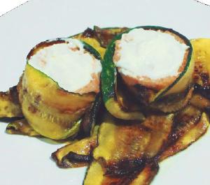 Gastronomía | Pastel de Pescado en Cama de Calabacín