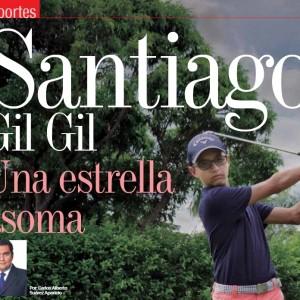 DEPORTES | Santiago Gil, Una Estrella que Asoma