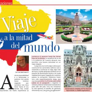 VACACIONES | Viaje a la Mitad del Mundo