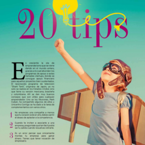 EMPRENDERISMO   20 TIPS
