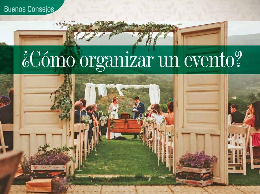 Como Organizar un Evento