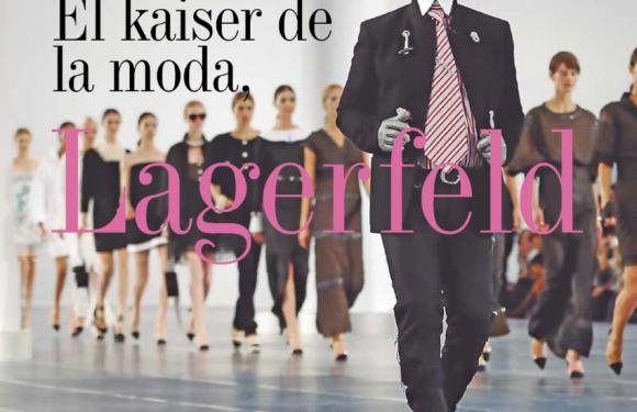 MODA | EL KAISER DE LA MODA LAGERFELD