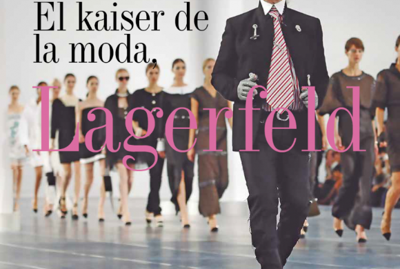 MODA   EL KAISER DE LA MODA LAGERFELD