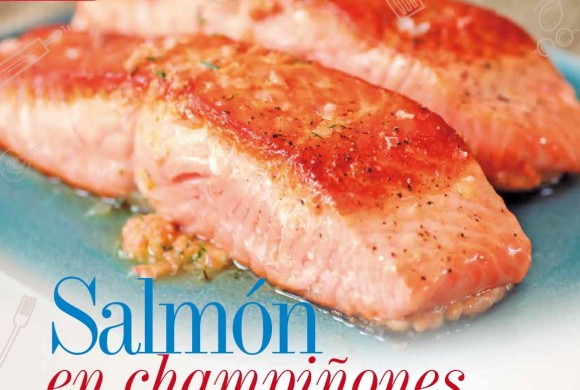 GASTRONOMÍA | SALMÓN EN CHAMPIÑONES