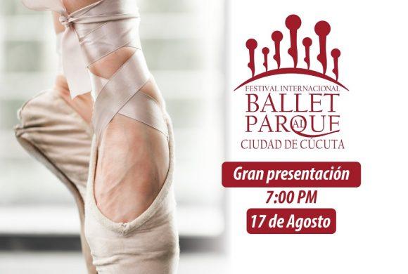 FESTIVAL INTERNACIONAL DE BALLET AL PARQUE