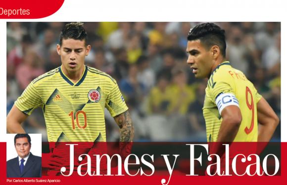 DEPORTES   JAMES Y FALCAO