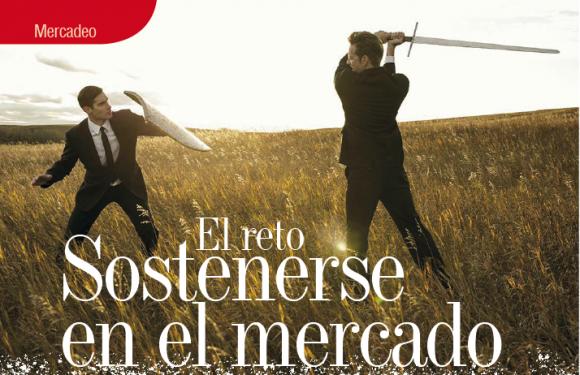 MERCADEO   EL RETO SOSTENERSE EN LE MERCADO