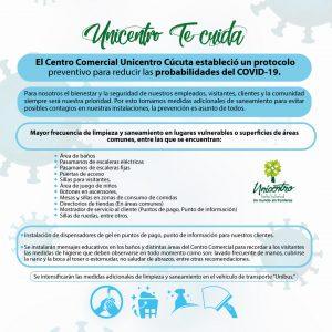 PROTOCOLO PREVENTIVO PARA REDUCIR LAS PROBABILIDADES DEL COVID 19