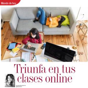 MUNDO DE HOY | TRIUNFA EN TUS CLASES ONLINE