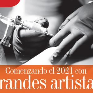 ARTE | COMENZANDO EL 2021 CON GRANDES ARTISTAS