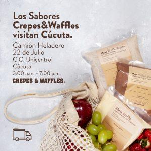 CREPES & WAFFLES VISITA CÚCUTA